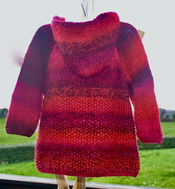 Little Red Riding Hood! Gorgeous knitted child's coat - 4856A14F 94CD 4E3C BAA1 31A54246DEB5 1 201 a