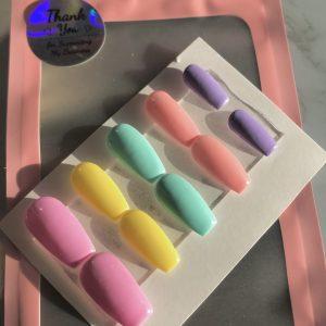 Spring Pastels Press-On Nails
