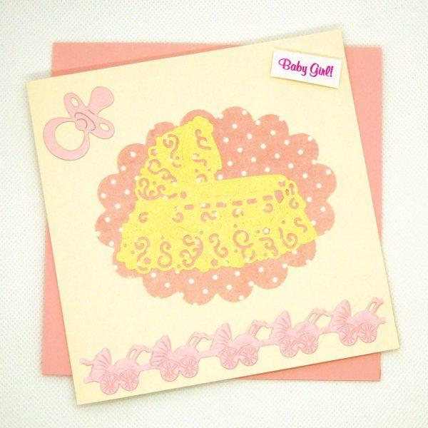 Handmade Baby Card - 691 - 691a