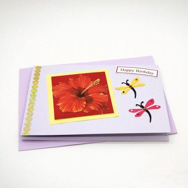 Handmade Birthday Card - 698 - 698a