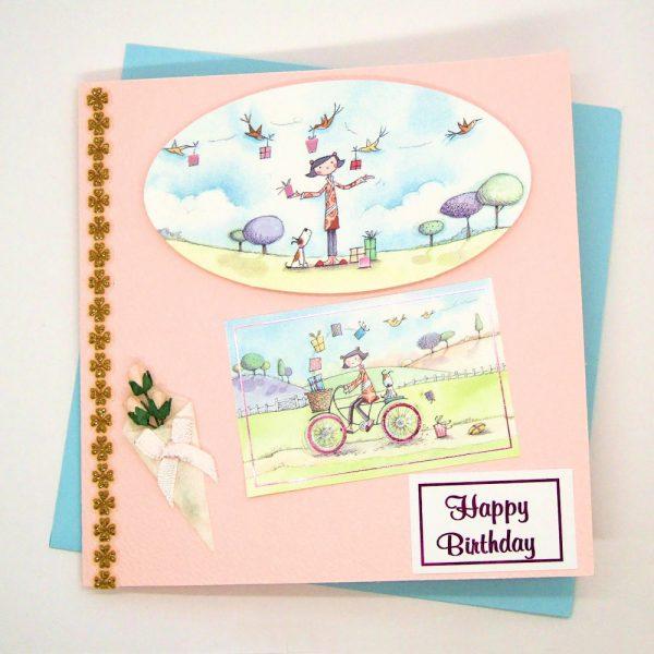 Handmade Birthday Card - 706
