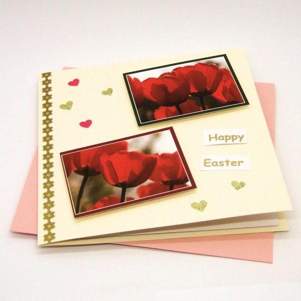 Handmade 'Best Wishes' Card - 708 - 708b