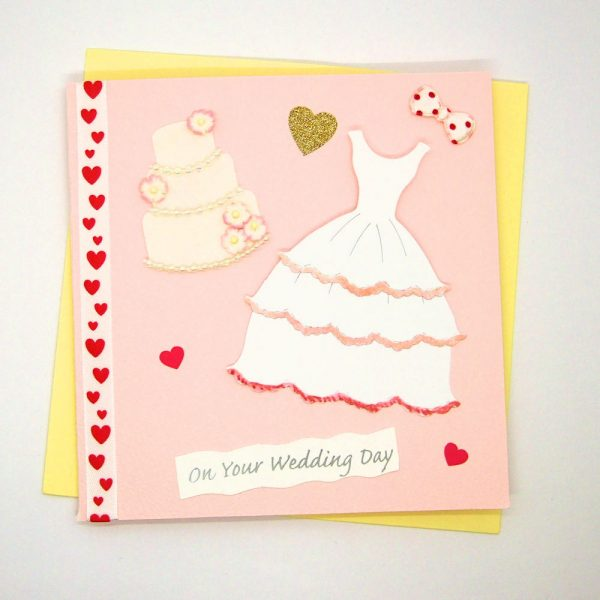 Handmade Wedding Card - 716