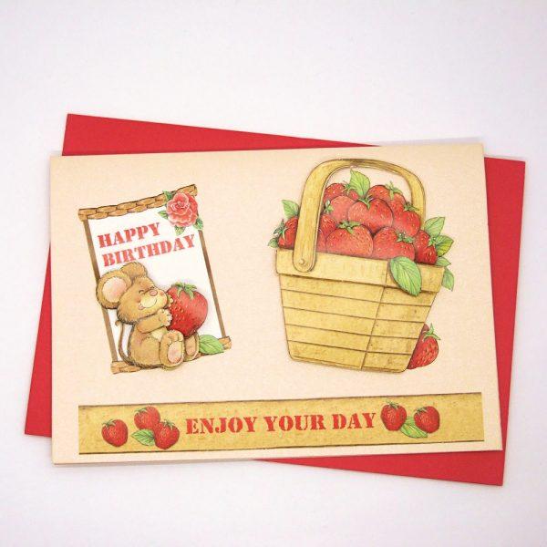 Handmade Birthday Card - 731 - 731a