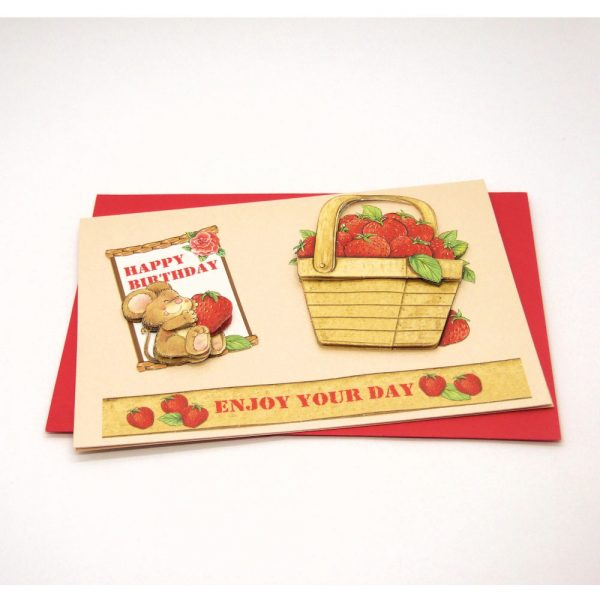 Handmade Birthday Card - 731 - 731b