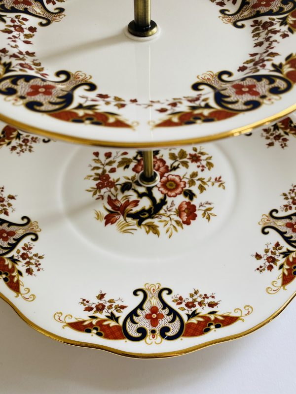 Cake Stand - 3 Tier Decorative Colclough China - 87C5537D 165A 4BE1 8C64 38E2815EA619