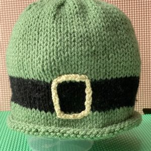 Ready for Paddy's Day! Kid's Knitted Hat