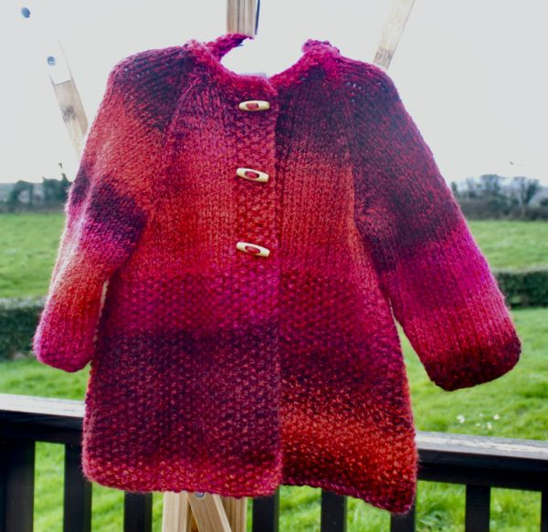 Little Red Riding Hood! Gorgeous knitted child's coat - C9648A76 36FF 4B01 8EEE B0766B149417 1 201 a
