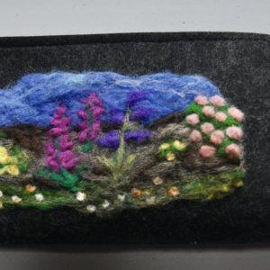 Rural Irish Beauty Needlefelted Wallet/Purse