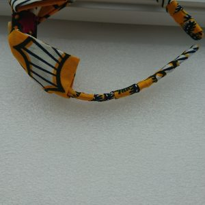 Yellow Hairband With Bow