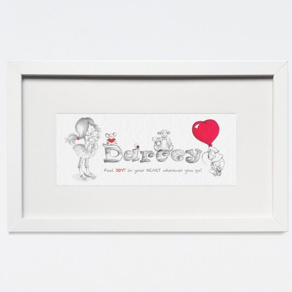 Baby/Child Name Prints - Darcey