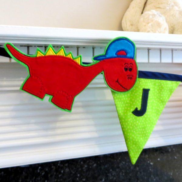 Dinosaur Name Bunting - Dinosaur Bunting 6