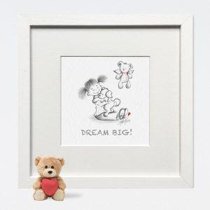 Dream Big Nursery Print