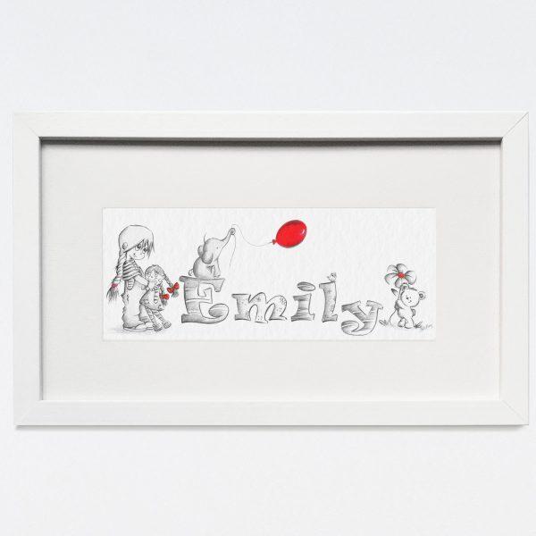 Baby/Child Name Prints - EIMILY TODDLER