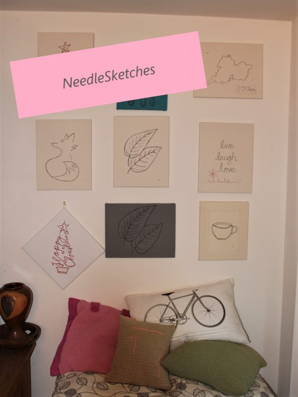 Wall Art NeedleSketches