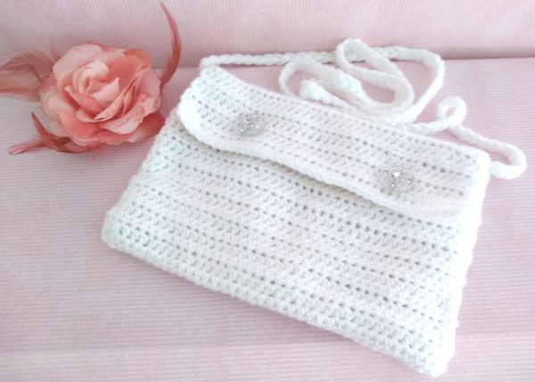 crochet bags for first communion