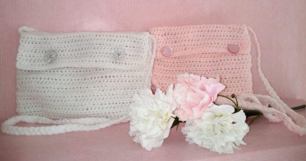 crochet bag for first communion ireland
