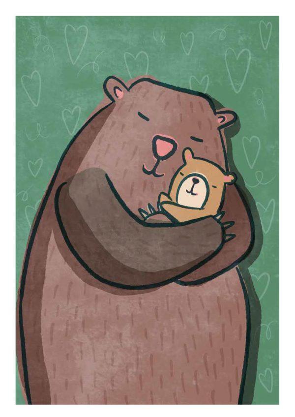 Momma Bear... A4 Print
