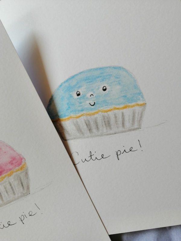 Cutie Pie New Baby Card - IMG 10539f901b71c15cf7f639ef32760ffe V rotated