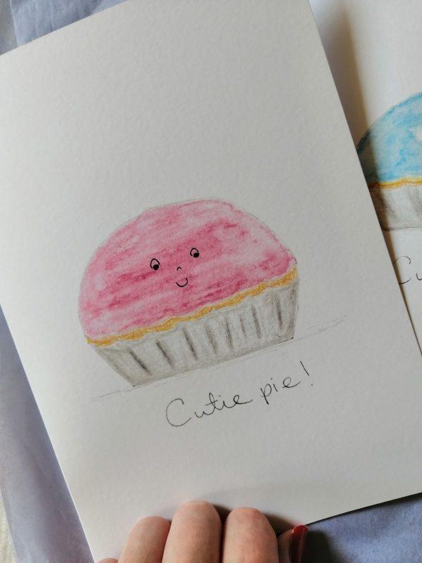 Cutie Pie New Baby Card