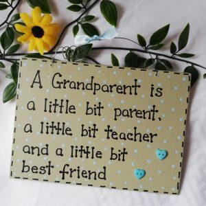 Wall Sign - Grandparent Green