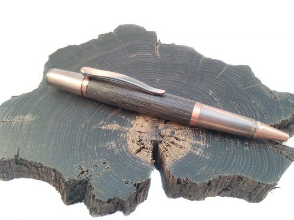 Irish Bog Oak Copper Ballpoint Pen