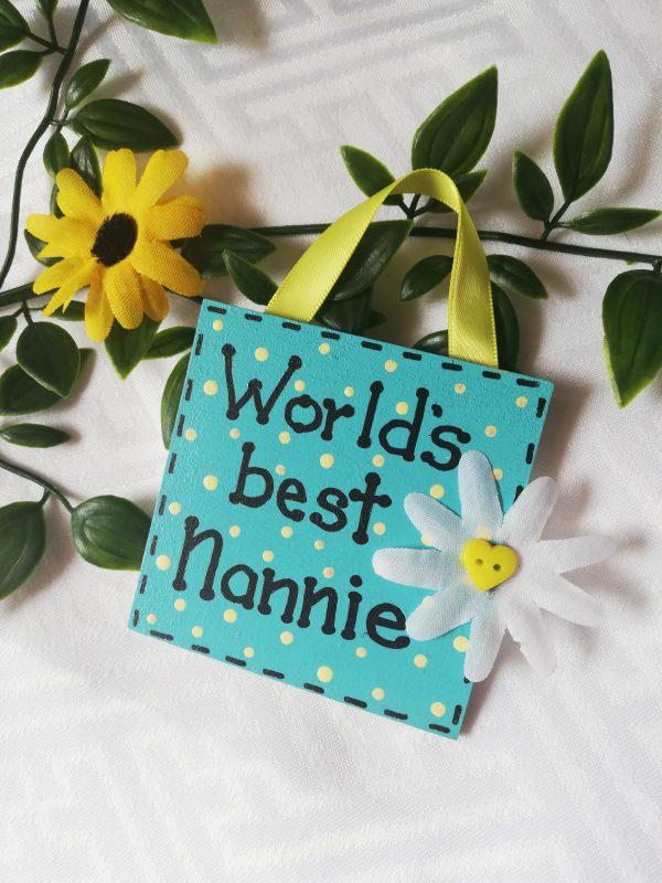 Mini Sign - Nannie