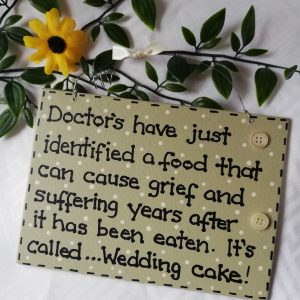 Funny Sign - Wedding
