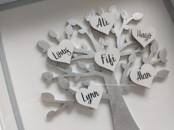 Silver Anniversary Family Tree Frame - IMG 20210319 0816418272