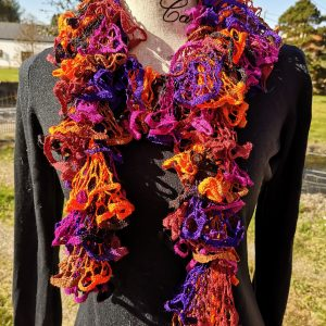 All That Jazz Netted Ruffle Scarf