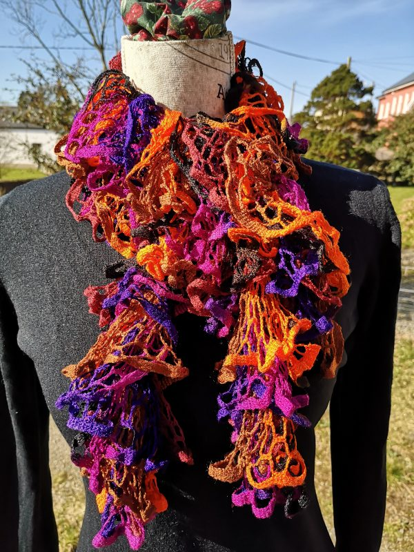 All That Jazz Netted Ruffle Scarf - IMG 20210319 102535
