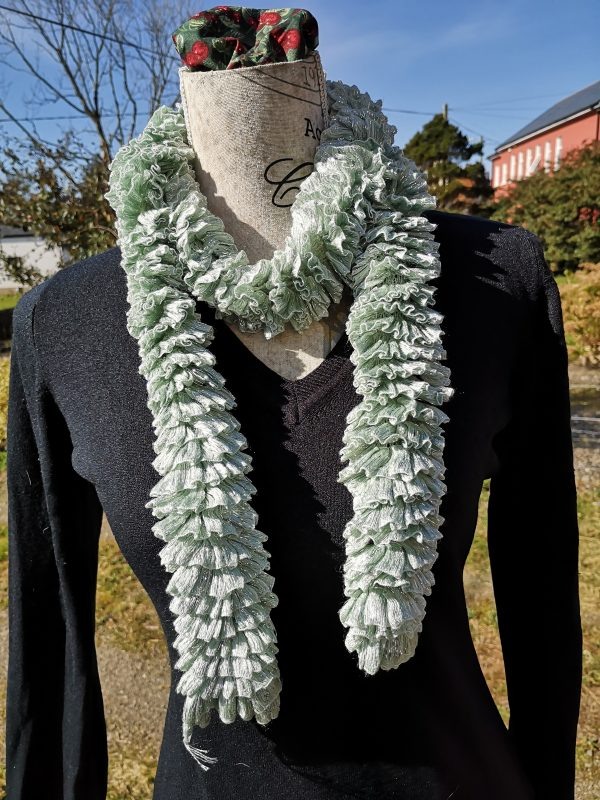 Soft Mint - Ribbon Scarf
