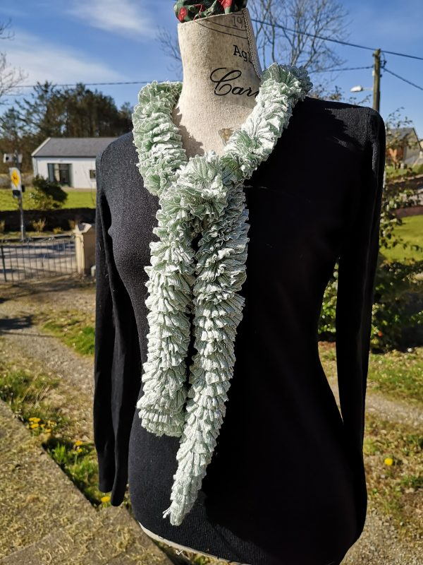 Soft Mint - Ribbon Scarf - IMG 20210319 102816