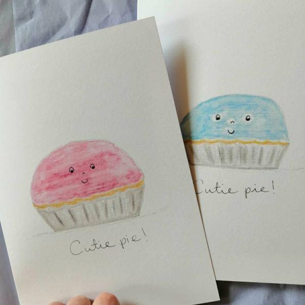 Cutie Pie New Baby Card - IMG 20210331 151148 897