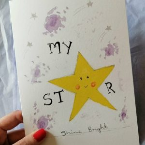 My Star Greeting Card