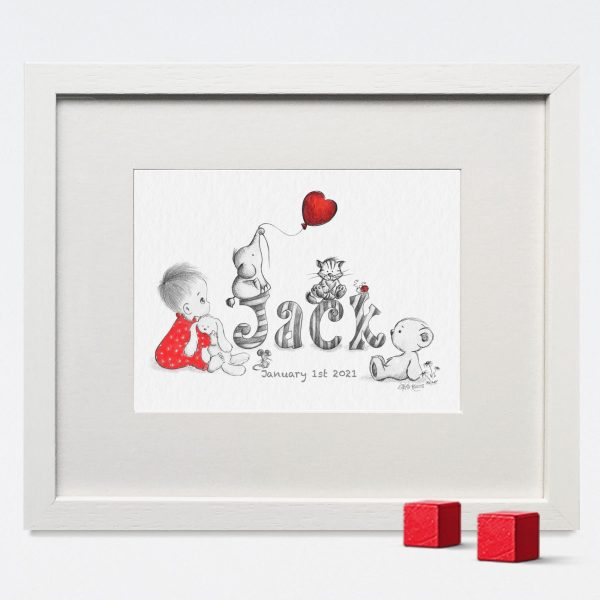 Baby/Child Name Prints - JACK