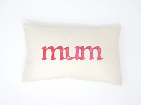 Mum Cushion - Mothers Day Cushion 43cm x 26cm 2