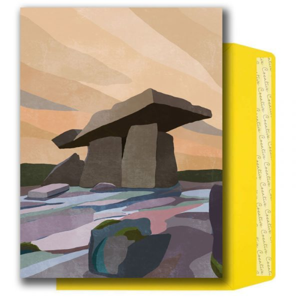 Illustrated Irish Places A5 Notelet Set - Notelets pack TheBurren