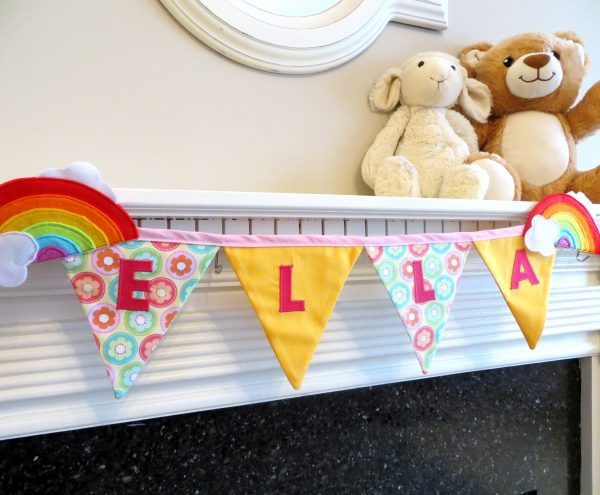 Rainbow Name Bunting - Rainbow Bunting 4