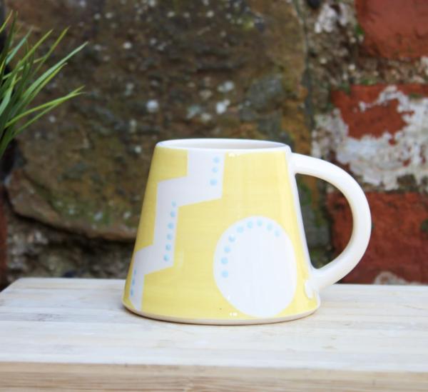 Small Sunshine Yellow Mug
