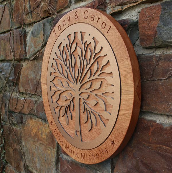 Tree of Life Personalised Wedding Gift (Small) - Tree of Life Website 2