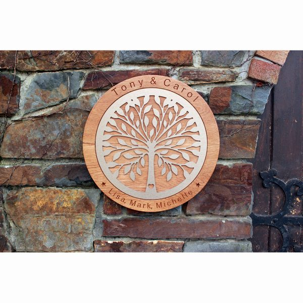 Tree of Life Personalised Wedding Gift (Small) - Tree of Life Website 4