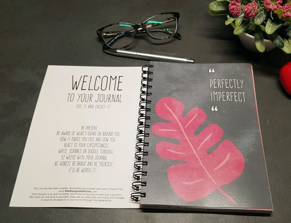 Don't Forget to Remember Yourself - Self Care Journal - journal spread