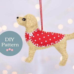 Bailey the Labrador PDF Sewing Pattern