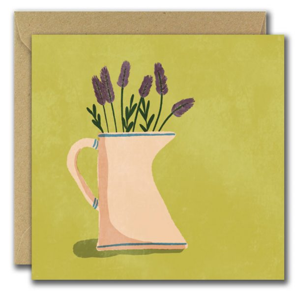 Set of 3 Graphic Floral Illustrated Blank Greeting Cards