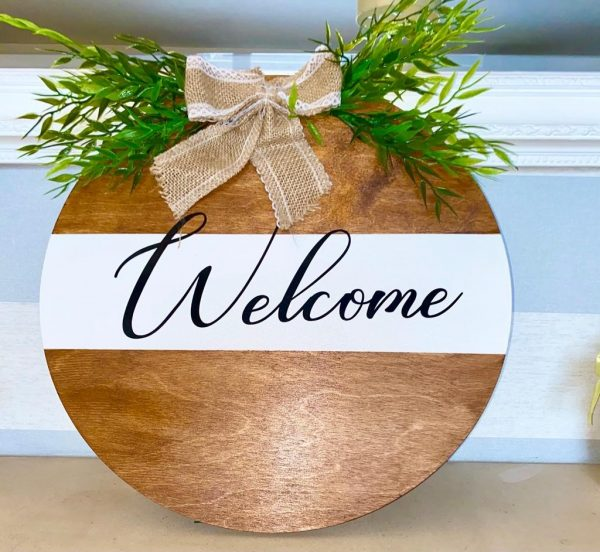 Welcome Plaque - sign3