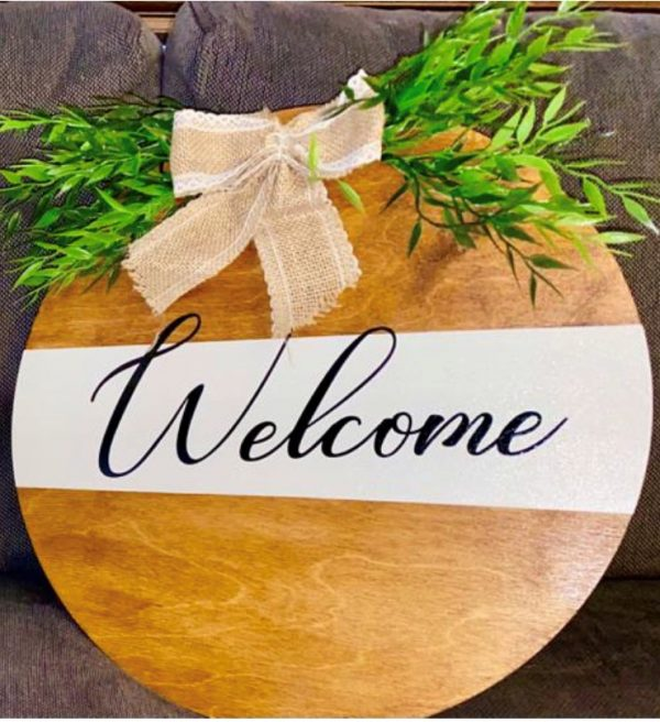 Welcome Plaque - sign4