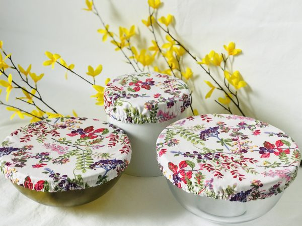 Mila's Reusable Bowl Covers set of 3 Berries