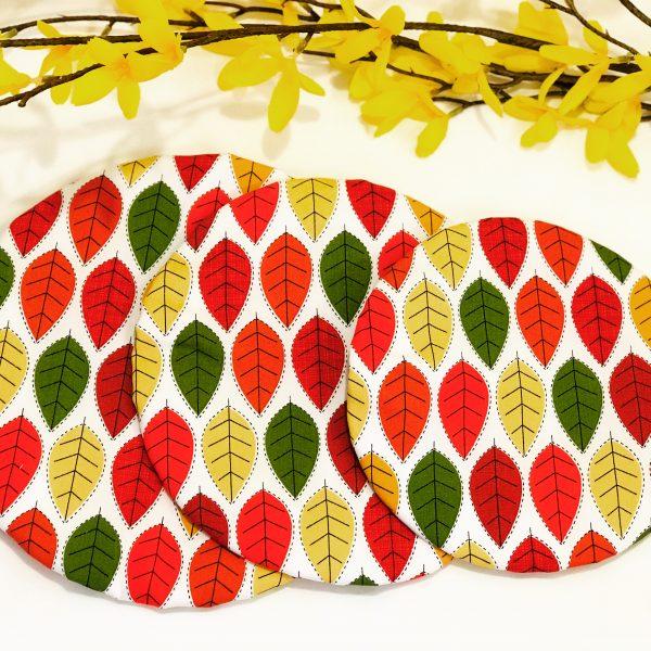 Mila's Reusable Bowl Covers set of 3 -Autumn leaves - 05020C58 1DE8 420C 803B EE2651364EC0