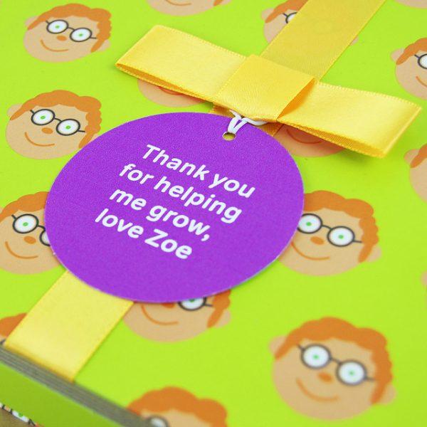Teacher Gift Book with Socks - 19504996630 5bb3eb8d9a z
